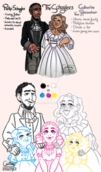 The Schuyler Parents! by creamcake13