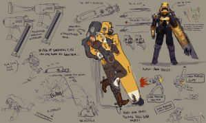 Soldier concepts 2 by Zedig