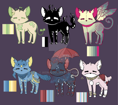 Character sheet - Reference (possible adopts) by Aioma