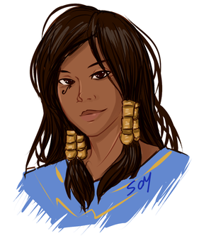 OvW - Miscellaneous, Fareeha by MasterFranny