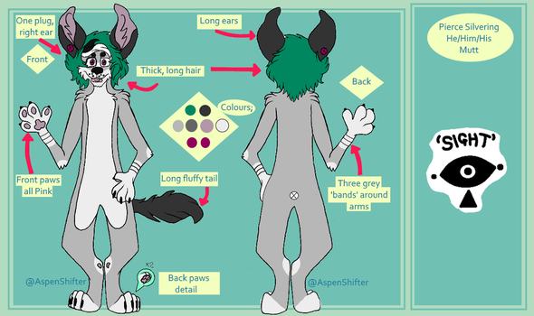 Pierce Ref | July 2016 by AspenShifter