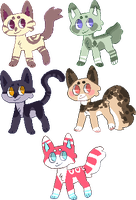 some cat adopts - 3 left by furfroo