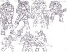 Soldiers of the Multiverse 2 by LordArcheronVolistad