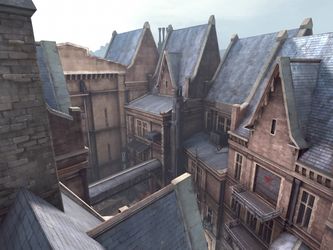 Dishonored Screen Shot____ Distillery District by Salmoonella