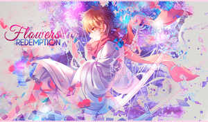 Banner Flowers Redemption by Hitsu26