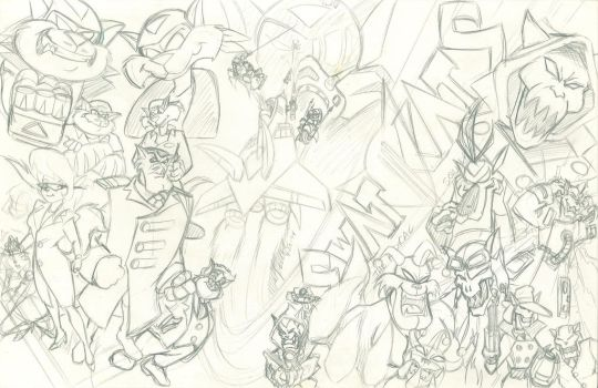 Swatkats Poster Rough by wondersquid