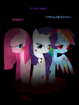Pinkamena,Lil Miss Rarity and Rainbow Dash Factory by AgataBr