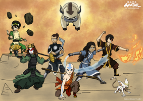 Team Avatar by Juggernaut-Art
