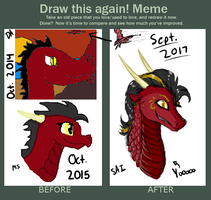Before And After Meme 2017 by TheArticPegasus