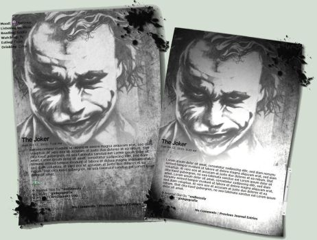 The Joker Skin by ChristiaanR1990 by endlesssly