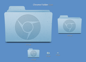 Google Chrome Folder Icon by ermonas