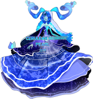 cerulean midnight pearl(closed) by MeruRei