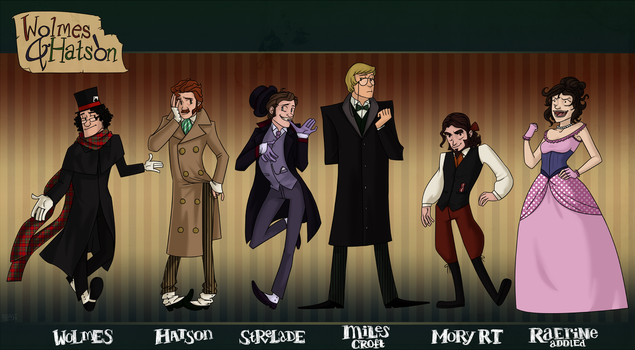 Super Sleuths by muffinpoodle