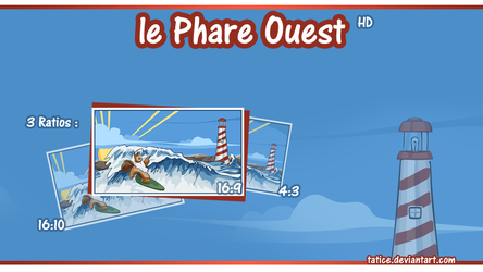 le Phare Ouest - Far West by tatice
