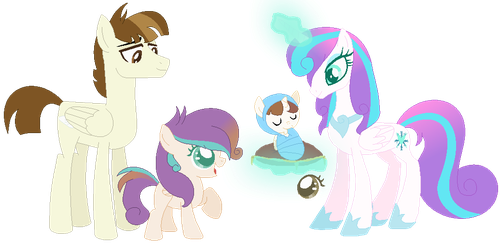 Flurry X Featherweight family by Jeanettemiller547