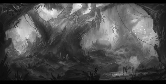 The Forest Grasp by Narandel