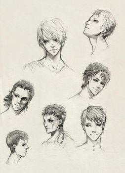 Sketch_faces_1 by Anixien