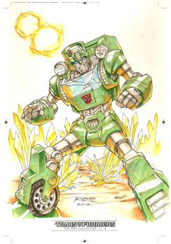 Kup #1 for Transformers IDW Limited Volume 2 by REX-203