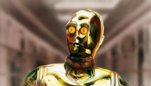 C3PO by RedSaucers