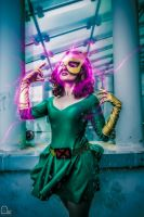 Marvel Girl and telekinesis by Evejo