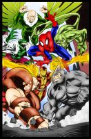 Spidey vs Sinister Six - McDaniel and Me by pascal-verhoef