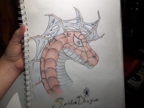 SpiderDragon by DarkDragonknight7