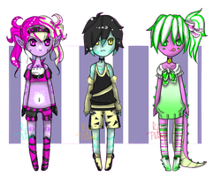 Collab with Rin! {Auction - Open} by Ruruuni