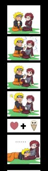Gaara loves the ice cream by Mitte-chan