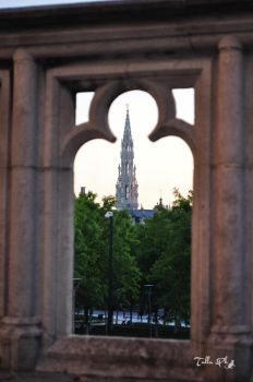 a view of Bruxelles by Tulla-Morwen