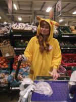 A Wild Pikachu Appeared in a Supermarket by EAMS81