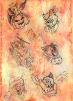Halloween gifts by Nakouwolf