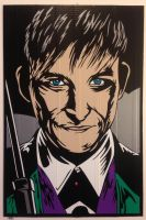 Robin Lord Taylor Penguin Duct Tape Art by DuctTapeDesigns