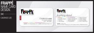 Frappe Name Card Design by iamcadence