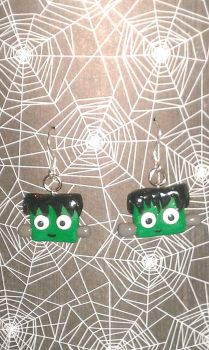 Frankenstein Earrings by XvisionaryX