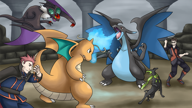 Dragon gym leader: DaveGamesYT by Nojiko444