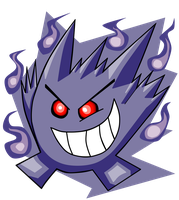 Gengar by turb0s0ic333