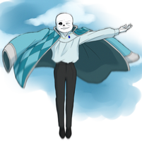 Sans' Moving Castle by Hakari-chan