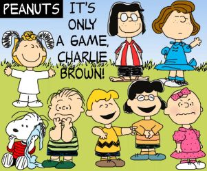 Only a Game, Charlie Brown by cecily-marla-smith
