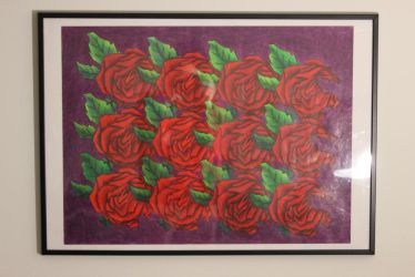 Rose Tessellation - Framed by lily101220