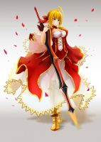 Saber Nero by Ocamint