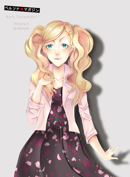 Model Takamaki - P5 by marisetteart