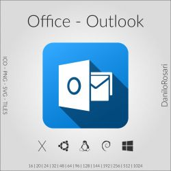 Office (Outlook) - Icon Pack by DaniloRosari
