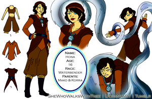 Hona reference by SheWhoWalksWithThee