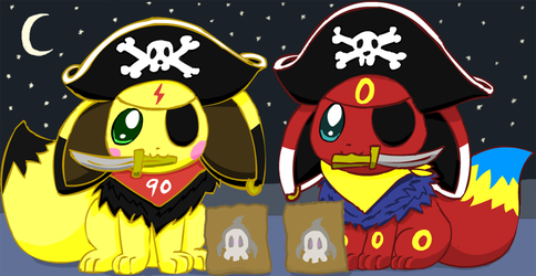 Trick or Treat, or else... by pichu90
