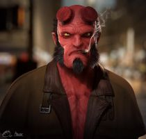 Hellboy by ChaosSight
