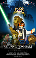 Return of the Lionheart Poster by RetroUniverseArt