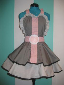 Portal Companion Cube Cosplay Pinafore by DarlingArmy