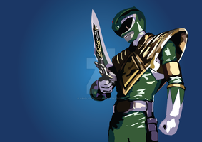 Green Ranger by absolute-pagey