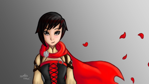 Another Ruby Rose by Zentics
