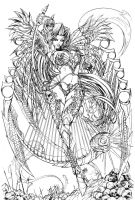 Lady Death Damnation Game Metallic Edition Lines by JwichmanN